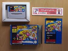 ★ SUPER BOMBERMAN Hudson Super Nintendo SNES Super NES PAL ☆ Buenisimo juego