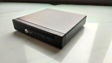 HP Mini EliteDesk 705 G2 - Mini PC Quad Core - RAM 8GB - 500GB HDD - Mediacenter