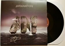 AWOLNATION SIGNED MEGALITHIC SYMPHONY  LP VINYL RECORD ALBUM AARON BRUNO + COA