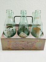 Vintage Coca-Cola Aluminum Carrier Tray Corporate Caddy w/ Atlanta Coke Bottles
