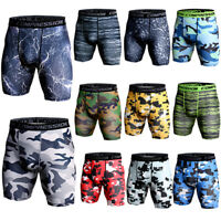 Men's Compression Shorts Running Basketball Gym Short Tights Boxers Wicking