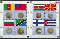 UNO - Wien 738-745 Kleinbogen (kompl.Ausg.) postfrisch 2012 Flaggen un (9137486