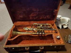 Beuschler Custom Built Aristocrat Trumpet In Original Case
