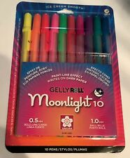 Sakura ~ Moonlight Gelly Roll Opaque Ink Pen Set 10 Pack Large Line