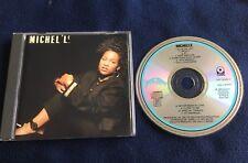 Michel'le - Michel'le - CD album 1989 Ruthless Records Dr Dre Easy E DJ Yella
