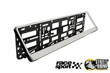 Peugeot 205 Race Sport Chrome Number Plate Surround ABS Plastic