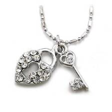 Heart Lock Key Charm Anklet Ankle Bracelet Chain Summer Fashion Jewelry AK15clr