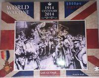 JIGSAW WW1 1914-2014 CENTENARY 1000 PIECE JIGSAW PUZZLE  BRAND NEW SEALED