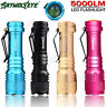 Super Bright CREE Q5 AA/14500 3 Mode  ZOOMABLE LED Flashlight Torch Lamp