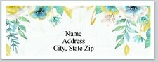 Personalized Address Labels Pretty Flowers Buy 3 get 1 free (P 527)