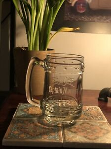 Captain Morgan Rum Glass Tankard Official Brand New