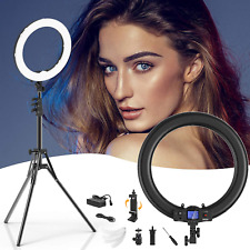 Ring Light,Upgraded Version 19inch with LCD Display Adjustable Color Temperature