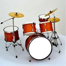 Led Zeppelin Drum Set - Batteria in Miniatura - Miniature Drum Set -Mini Bateria