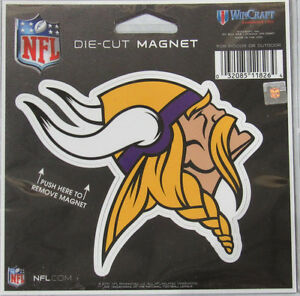 NFL Minnesota Vikings 4 inch Auto Magnet Die-Cut by WinCraft