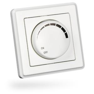 HEITECH Unterputz Dimmer weiß Helligkeitsregler Lichtschalter Unterputzschalter