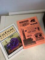 2 Hit And Miss Engines Literature Lot 1999 Magazine Catalog