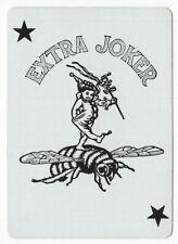 1 playing (swap) card - Joker - Bee rider [3204]