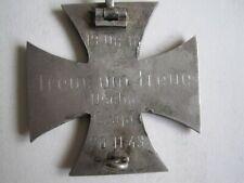 100%Orig 2WK WH Orden E lite EK1 Uscha Czaja 1943 GRAVIERT Abz entnazifiziert 2