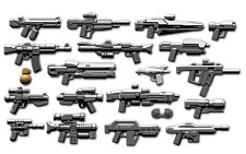 CUSTOM Brickarms Sci-Fi 2016 2.5 Weapons Pack ARMI PER PERSONAGGI LEGO ®