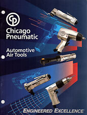 Automotive Air Tools 1990 Catalog Chicago Pneumatic Drills Hammers Wrenches Etc