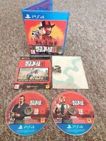 Red Dead Redemption 2 - Sony PS4 Game - With Map! - Private Seller - FREE P&P!