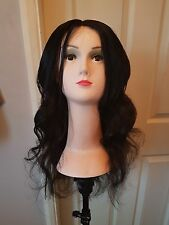 brazilian human hair wig with lace front closure