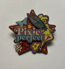 Disney Pin Tinker Bell Pixie Perfect Glitter Wings