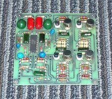 One Ward Beck 4-109 booster amp card, removed from working console...PERFECT!!