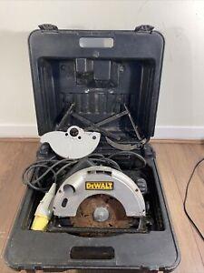 DEWALT circular saw 110 v DW62 in box Safety Guard Been Removed