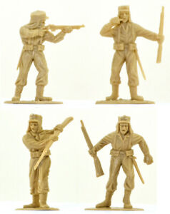10 Timpo Recast French Foreign Legion - 54mm - pose distribution and colors vary
