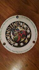 Christmas Ornament Plate Clock !!