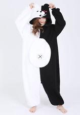SAZAC Danganronpa Monokuma Fleece Costume Unisex Adult Cosplay Halloween F/S