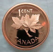 2002 CANADA 1 CENT PROOF PENNY COIN - S