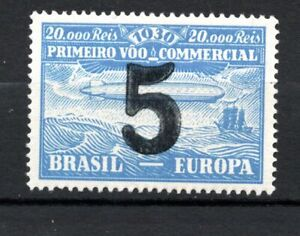BRAZIL 1930 AIRMAIL Zeppelin Surcharged  FORGERY STAMPS MNH