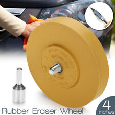 Rubber Eraser Wheel Pinstripe Sticker Decal Tape Glue Adhesive Remover 4 Inches