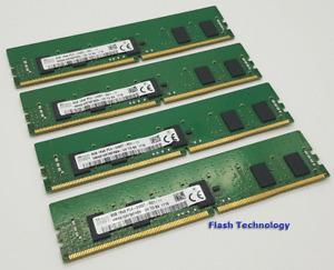 32GB (4x8GB) Dell PowerEdge DDR4 ECC Server RAM Memory T430 T630 R430 R630 R730