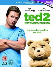 Ted 2 Extended Edition Blu Ray Comedy Film Mark Wahlberg Genuine R2 Fast Post