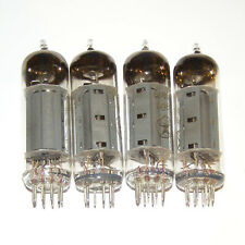 4 x 6P15P Pentode USSR tubes, NOS, equiv. of EL83 = SV83.  New, Old Stock