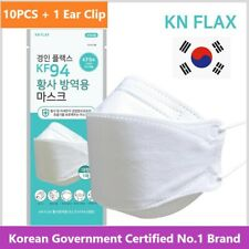 10PCS+1Clip [Made In Korea] Flax Face Mask [Individually Packaged]