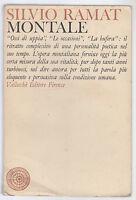 S. RAMAT-MONTALE-VALLECCHI EDITORE FIRENZE 1965-L3451