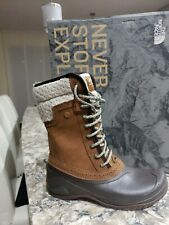 The North Face Women's Shellista II Mid Boots, Size 11 Brown