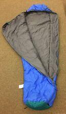 The North Face Blue Nylon Polarguard Sleeping Bag