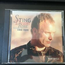 Desert Rose / Brand New Day   by Sting  MAXI CD A&M