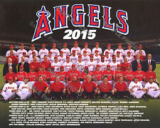 2015 LOS ANGELES ANAHEIM CALIFORNIA ANGELS TEAM 8X10 PHOTO MIKE TROUT