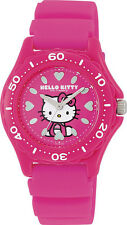 Hello Kitty Wrist Watch Waterproof Pink VQ75-430 ❤ CITIZEN Q&Q Japan Sanrio