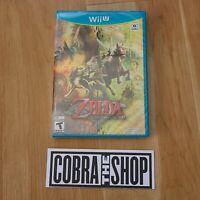 The Legend of Zelda: Twilight Princess Wii U  New Sealed Nintendo