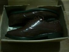 8.5  clifford james mens shoes, genuine upper leather new with box