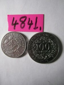 2 x  coins 2013   FRENCH WEST AFRICAN STATES     13   gms      Mar4841