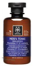 APIVITA MEN'S TONIC SHAMPOO FOR HAIR LOSS WITH HIPPOPHAE TC & ROSEMARY