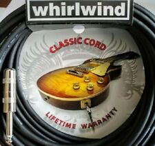 Whirlwind Sn10 10 ft Electric Guitar Cable Bass Keyboard Cord Lifetime Warranty